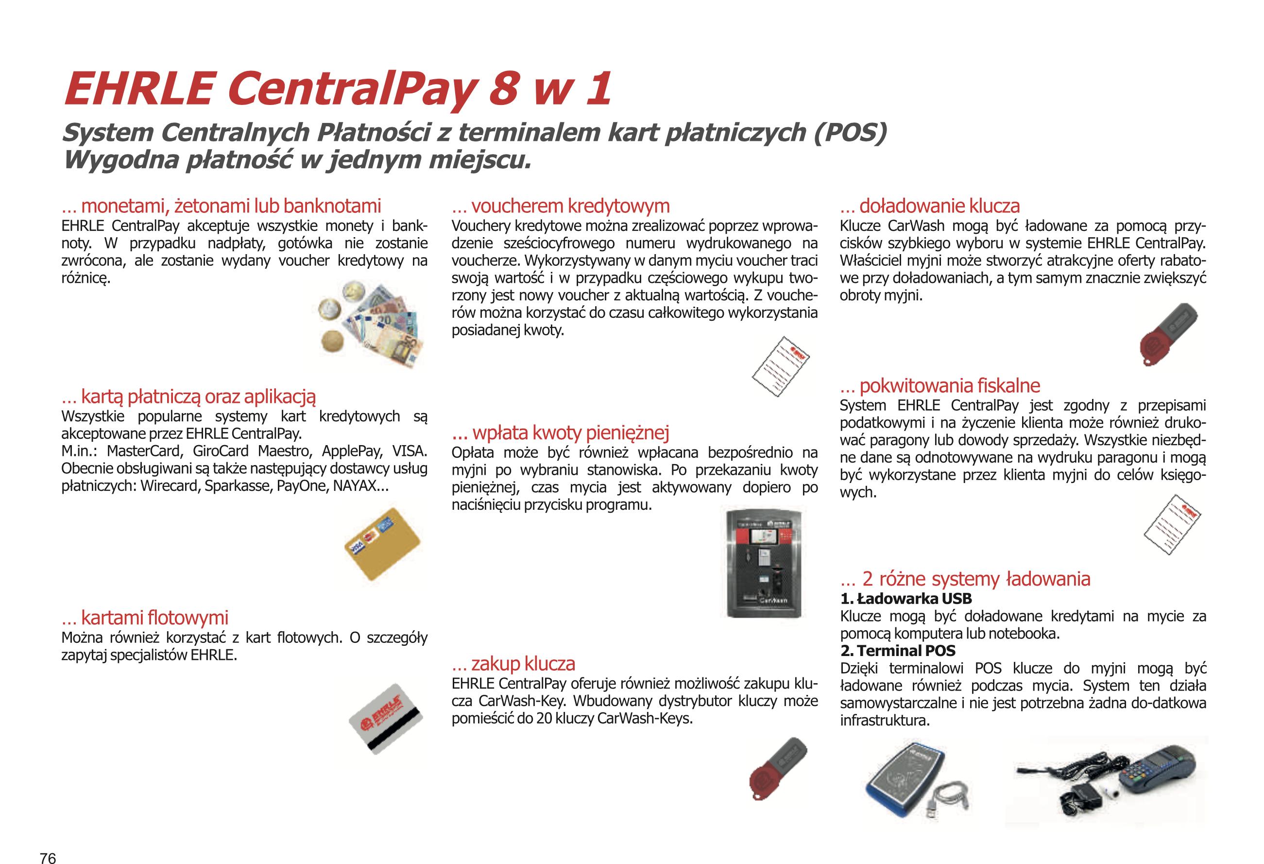 EHRLE CentralPay 8w1
