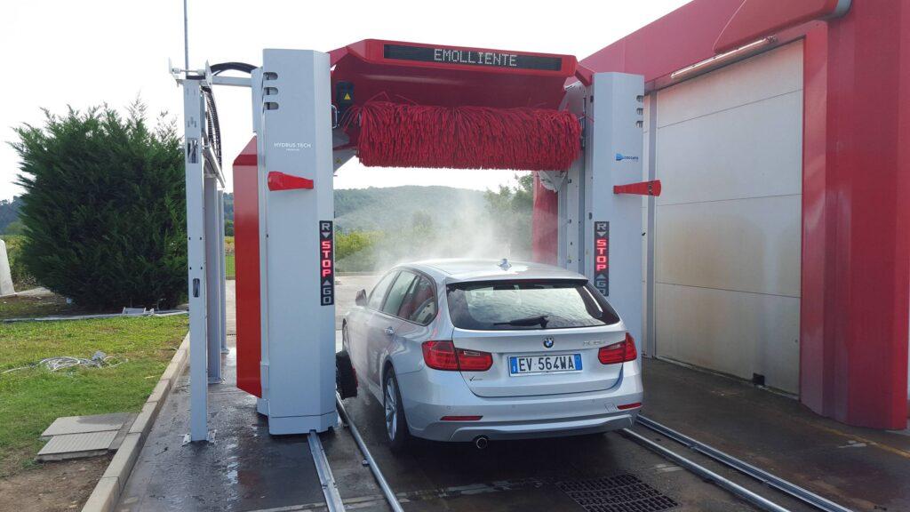 Myjnie portalowe EHRLE dla aut osobowych i małych pojazdów użytkowych