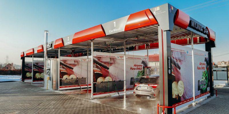 EHRLE producent myjni samochodowych